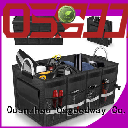Osgoodway golf trunk organizer with cooler bag for jeep