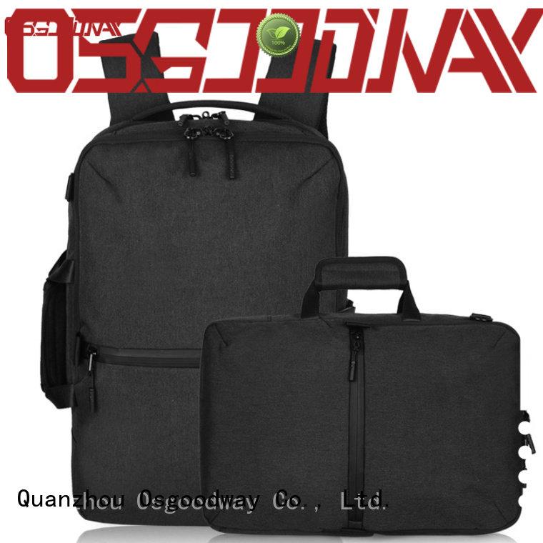 Osgoodway durable laptop travel backpack supplier for men