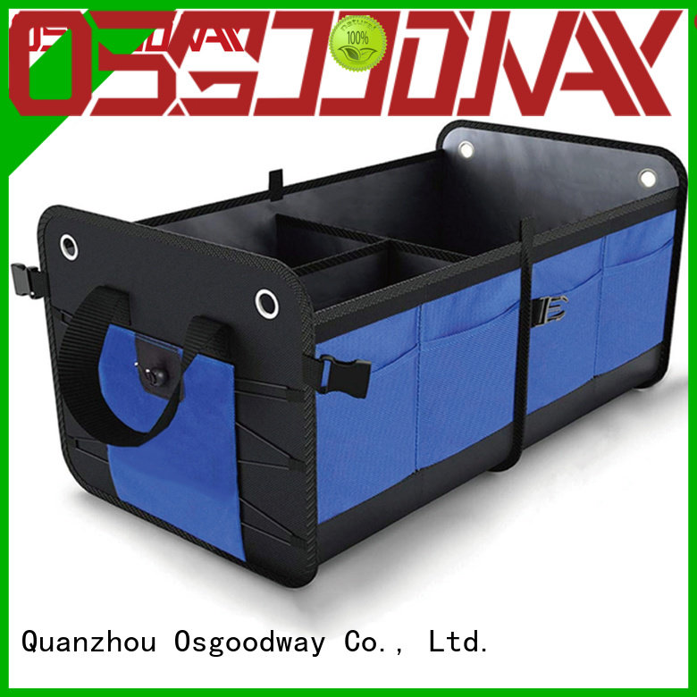 cars jeep trunk organizer with cooler bag for suv