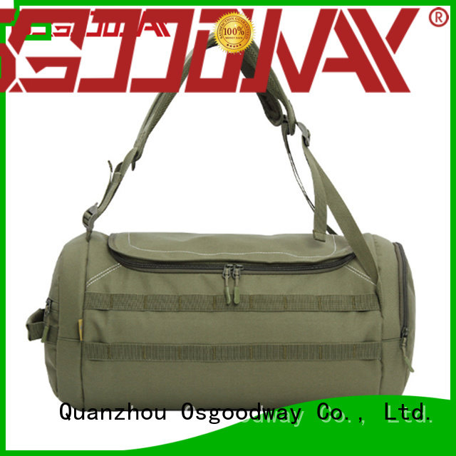 Osgoodway leather weekend duffle bag directly price for sport