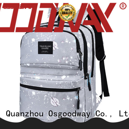 Osgoodway popular laptop backpack anti theft directly sale for school