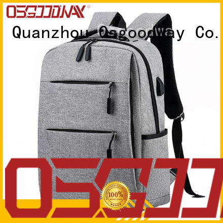 Osgoodway antitheft laptop backpack from China for business traveling