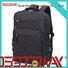 Black Wholesale Mens Rucksacks Backpack Custom Made College School Backpack Bags