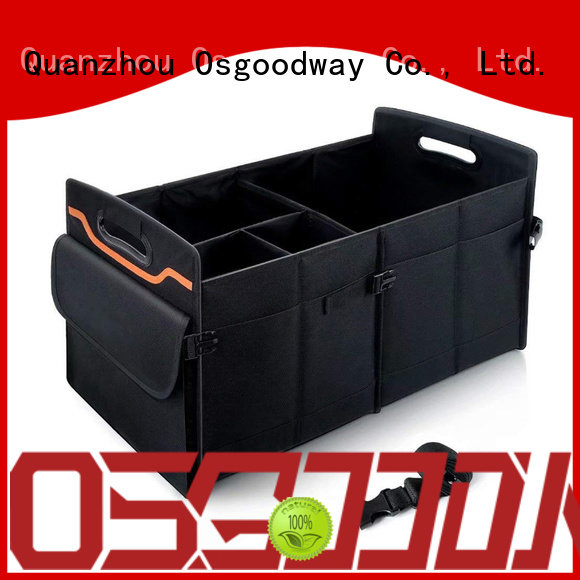 Osgoodway portable folding trunk organizer personalized for vehicle