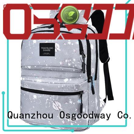 Digital Printing Womens Laptop Rucksack Backpack Travel Daypack Bookbags School Bag for Girl