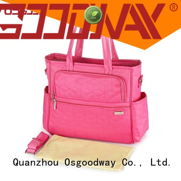 Osgoodway durable cute Diaper Bag easy to carry for vacation