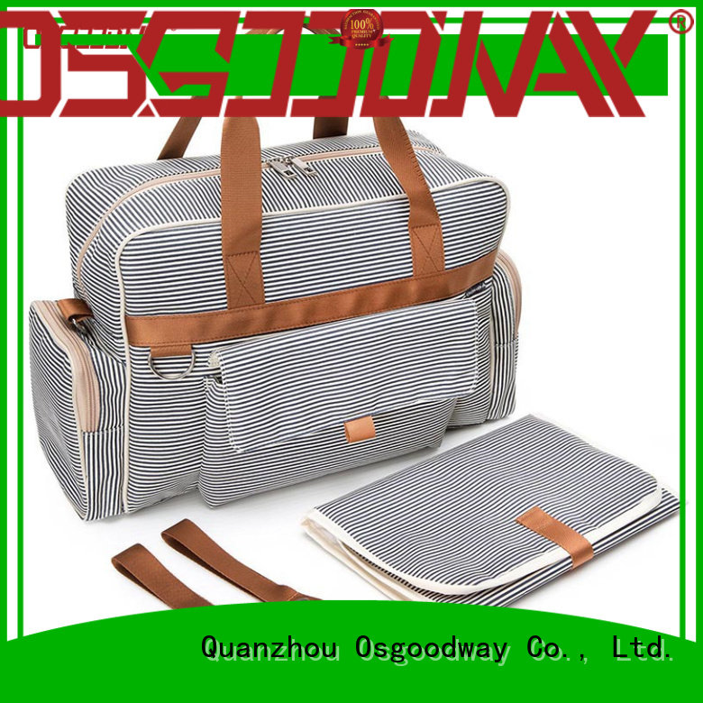 Osgoodway practical convertible backpack diaper bag manufacturer for baby care