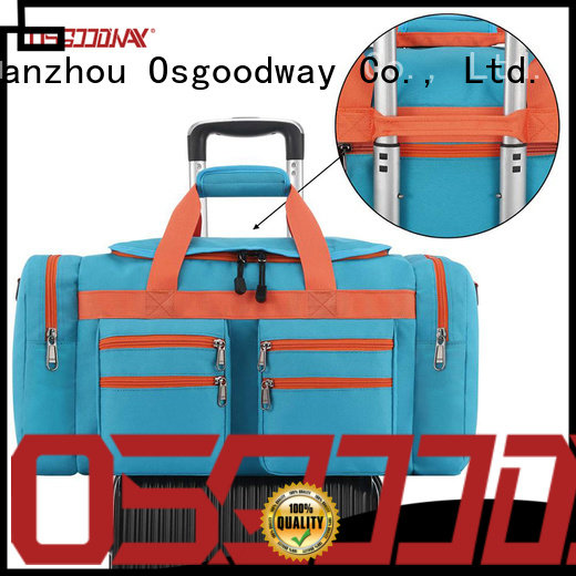 Osgoodway canvas duffle bag mens design for travel