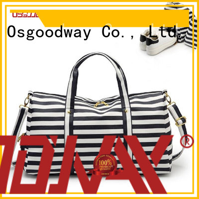 Osgoodway good quality travel duffle bag womens design for sport