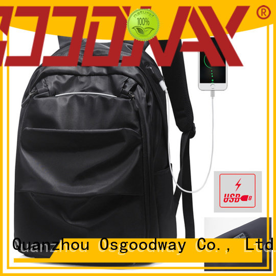 Osgoodway popular waterproof laptop backpack supplier for men