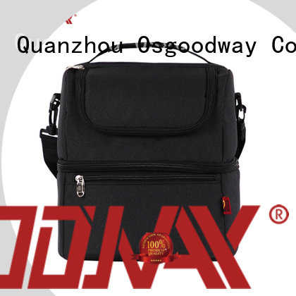 good quality lunch box cooler bag shoulder keep food warm for camping