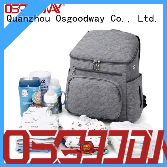 diaper bag with changing pad shoulders for picnic Osgoodway