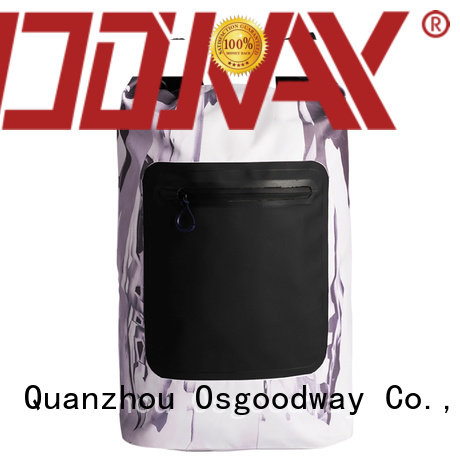 Digital Print 500D PVC Outdoor Sport Hiking Dry Bags Waterproof Backpack