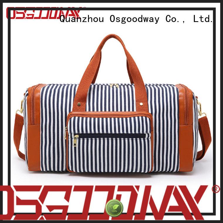 shoulder foldable duffle bag travel supplier for fitness Osgoodway