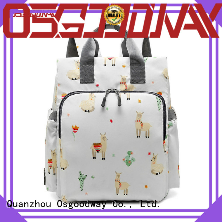 Osgoodway stylish diaper bags easy to clean for baby care