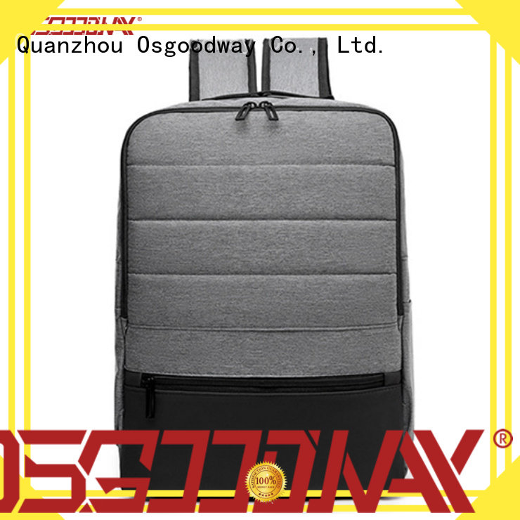 Osgoodway laptop backpack anti theft wholesale for work