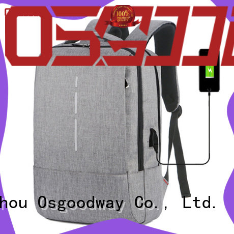 Osgoodway durable laptop backpack anti theft directly sale for work