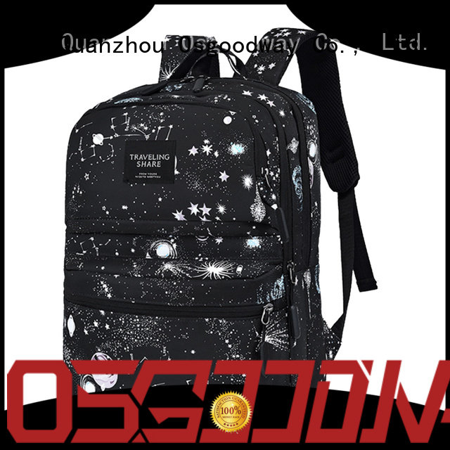 trendy backpack for school design for travel