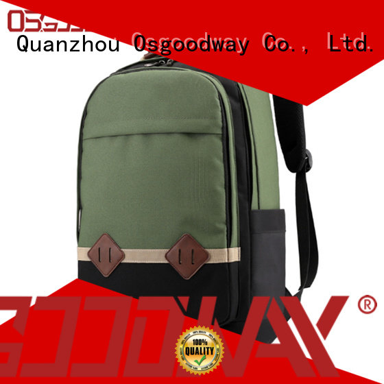 Osgoodway mens canvas backpack on sale for daily life