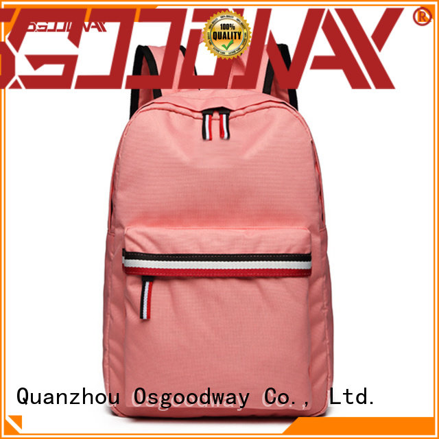 Osgoodway large women school backpack factory price for school