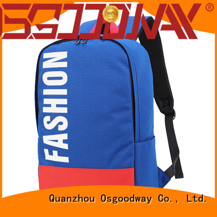 Osgoodway custom fashion backpack factory price for school
