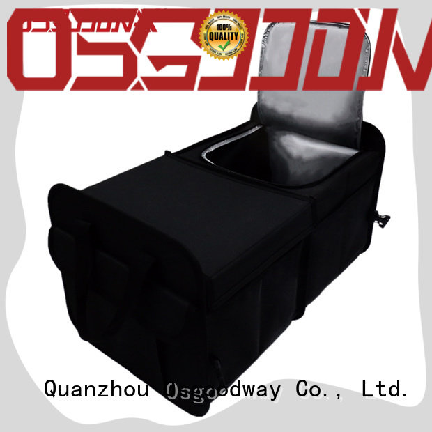 heavy duty collapsible trunk organizer with cooler wholesale for car