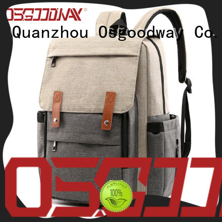 stylish wholesale diaper bags easy to clean for baby care