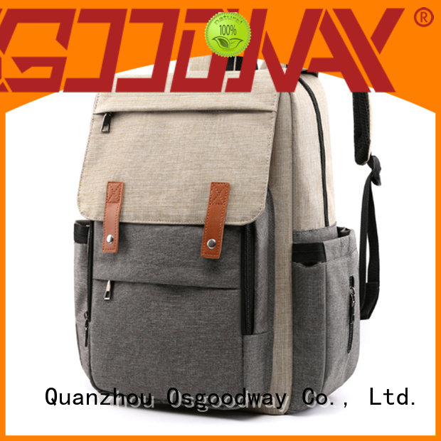 Osgoodway waterproof backpack diaper bag for girl wholesale for baby care
