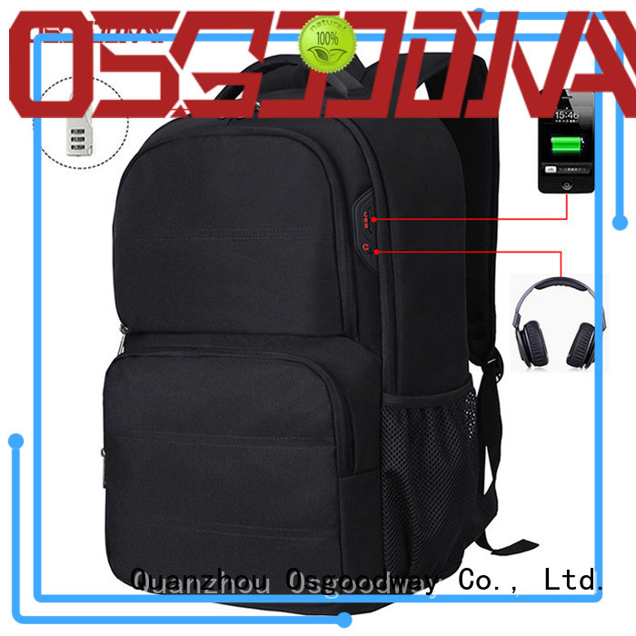 durable anti-theft laptop backpack outdoor supplier for men