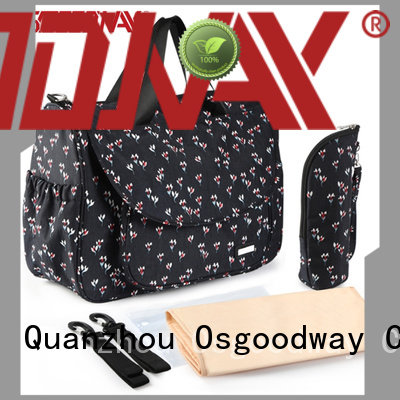 Osgoodway durable baby backpack diaper bag holder for mom