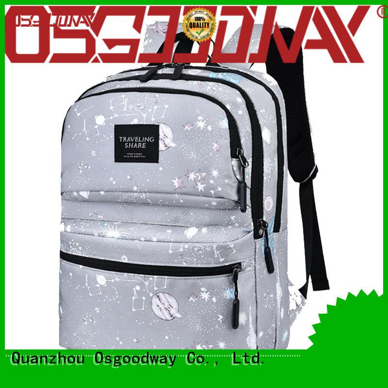 Osgoodway travel backpack for men design for school