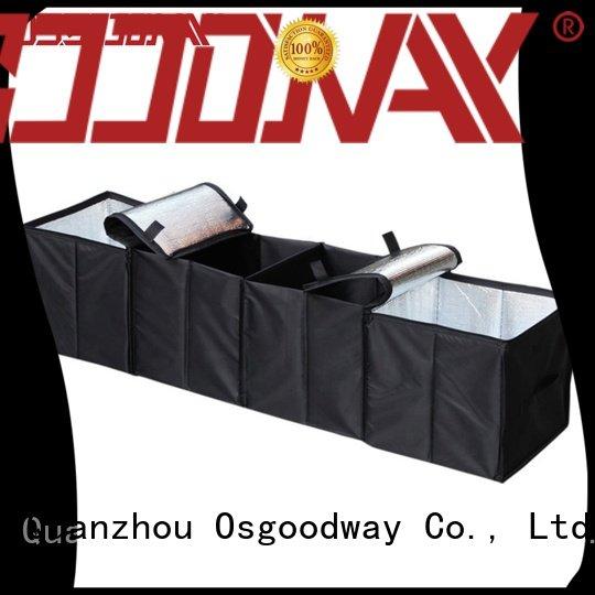 folding heavy duty trunk organizer personalized for suv