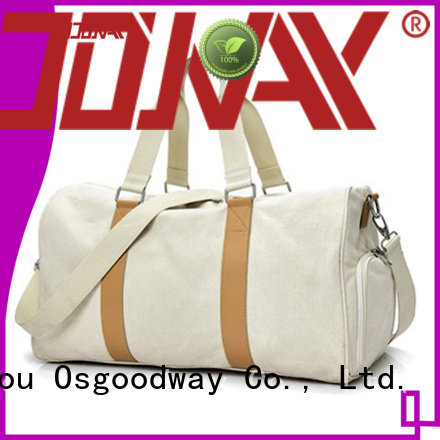 Osgoodway vacation custom bag manufacturer supplier for fitness