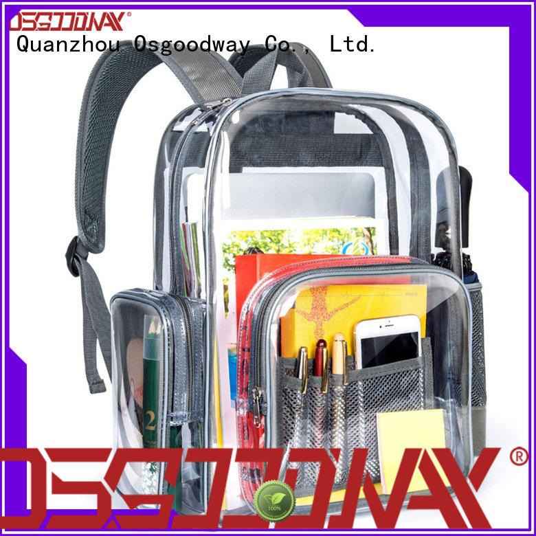 Osgoodway custom water resistant backpack online for school