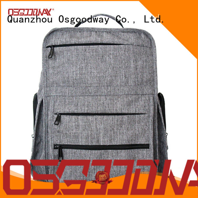 Osgoodway bags mens canvas backpack design for travel