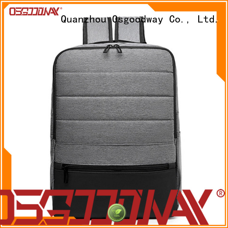 Osgoodway durable waterproof laptop backpack from China for school