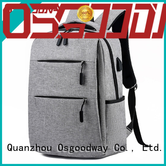 Osgoodway functional laptop backpack manufacturers directly sale for men
