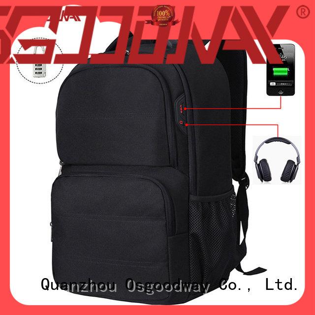 Osgoodway hot sale professional laptop backpack supplier for men