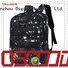Black Fashion Laptop School Travel Backpack Custom Girl Woman Bagpack School Backpack
